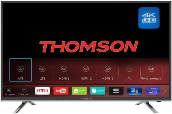 Телевизор LED 43 Thomson T43USM5200 черный 3840x2160 50 Гц Wi-Fi USB HDMI VGA