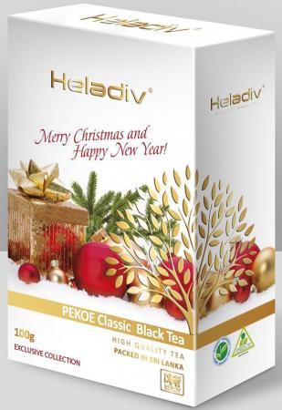 Чай черный HELADIV Pekoe - Merry Christmas 100 гр.