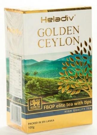 Чай черный HELADIV FBOP Elite Tea With Tips 100 гр. ceylon black tea fbop