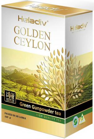 Чай зеленый HELADIV Gunpowder 100 гр. anxi maoxie tieguanyin tea chinese oolong natural organic tie guan yin зеленый чай высшего качества чай