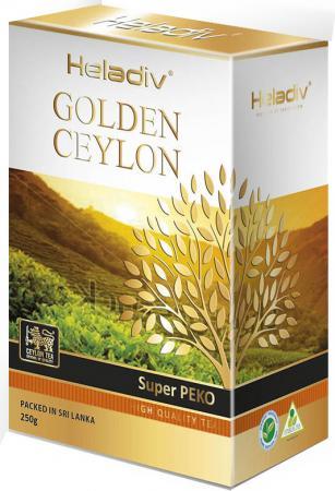 Чай черный HELADIV Super Pekoe 250 гр. heladiv golden ceylon super pekoe