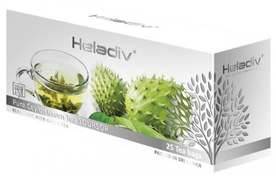 купить Чай зеленый HELADIV Pure Ceylon 50 гр. саусеп недорого