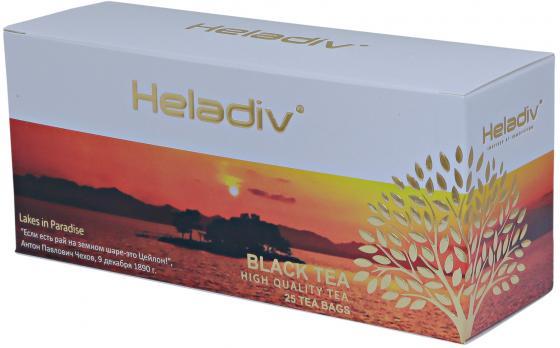 Чай черный HELADIV Standart 50 гр. modern tea дахунпао 20 пакетиков растворимый чай 100