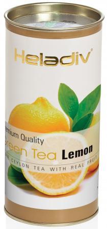 купить Чай зеленый HELADIV GT Round P.T. 100 гр. пряный лимон недорого