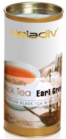 Чай черный HELADIV Round P.T. Earl Grey 100 гр. бергамот бергамот 5 мл 100