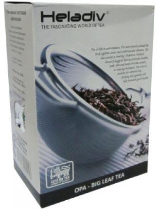 Чай черный HELADIV Opa OD 250 гр. чай черный байховый бонтон высокогорный цейлонский крупнолистовой 721 100 г
