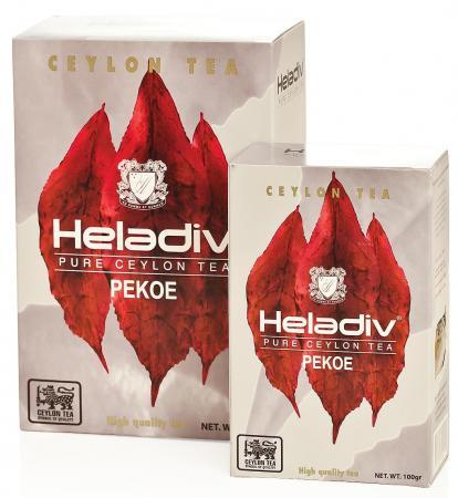 Чай черный HELADIV Pekoe OD 100 гр. черный гречневый чай органический горький гречишный чай здравоохранение травяной чай высшего качества чай травяной чай