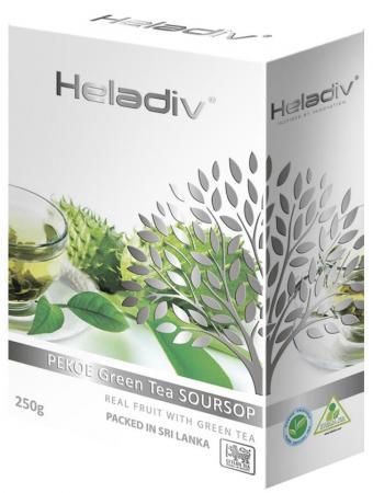 Чай зеленый HELADIV Pekoe 250 гр. саусеп heladiv green tea pekoe чай зеленый листовой 200 г