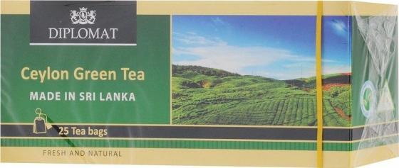 Чай зеленый HELADIV Diplomat 50 гр. цветочный чай цветочный