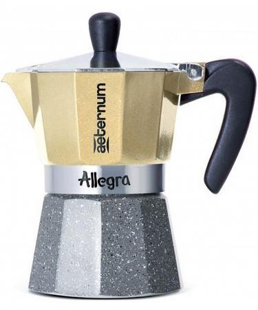цена на Кофеварка гейзерная Bialetti Aeternum Allegra Petra 6 порций алюминий 5683