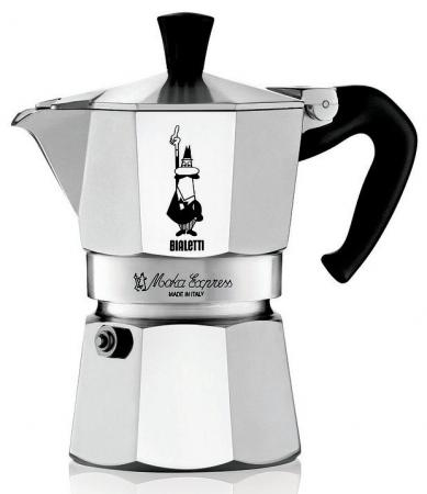 Кофеварка гейзерная Bialetti Moka Express 3 порции алюминий 1162