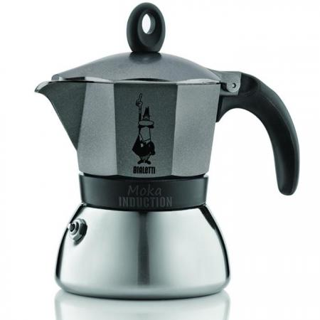 Кофеварка гейзерная Bialetti Moka Induzione 6 порций сталь 4823
