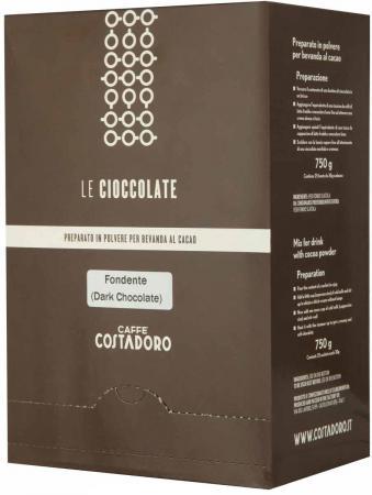цена Растворимое какао COSTADORO Le Cioccolate Dark Chocolate 750 гр.