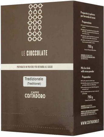 Растворимое какао COSTADORO Le Cioccolate Tradizionale 750 гр. new 2pcs female right left vivid foot mannequin jewerly display model art sketch