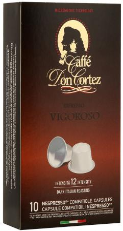 Кофе в капсулах Carraro Don Cortez - Vigoroso 84 грамма кофе в капсулах tassimo карт нуар кафе лонг интенс 128г