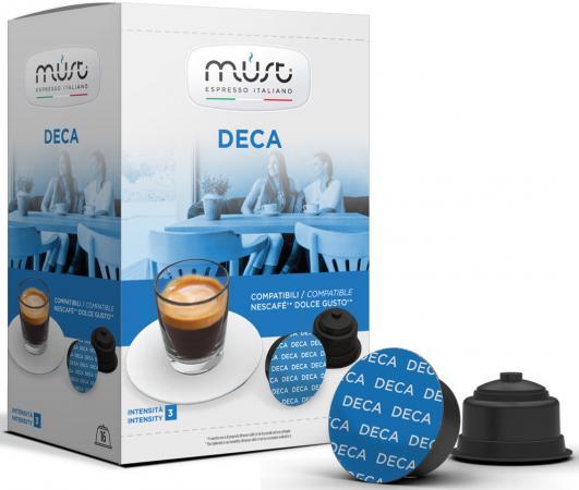 Кофе в капсулах MUST Dolce Gusto: Deca 300 грамм di maestri deca кофе в капсулах 10 шт
