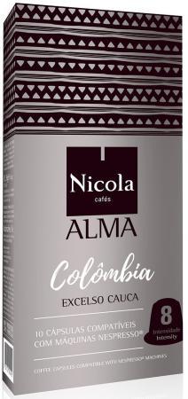 Кофе в капсулах Nicola Alma Colombia 84 грамма кофе в капсулах illy iperespresso monoarabica colombia