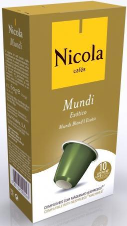 Кофе в капсулах Nicola Mundi 84 грамма кофе в капсулах tassimo карт нуар кафе лонг интенс 128г