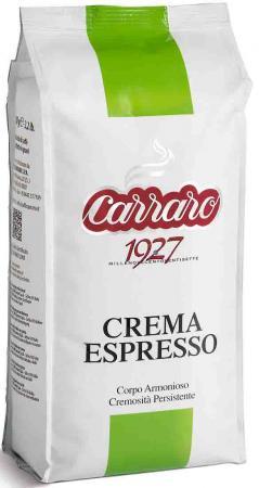 Кофе в зернах Carraro Crema Espresso 1000 грамм цена