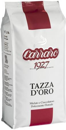 Кофе в зернах Carraro Tazza D'Oro 1000 грамм кофе в зернах melitta la tazza verde cafe creme 1кг
