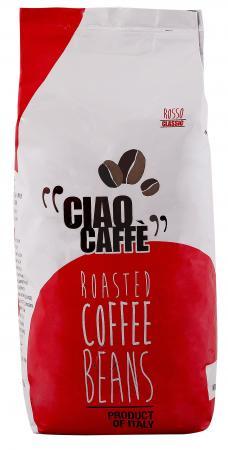 Кофе в зернах Ciao Caffe Rosso Classic 1000 грамм кофе зерновой ciao caffe rosso classic