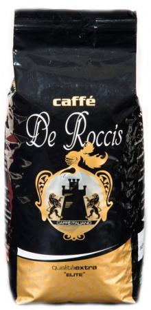Кофе в зернах De Roccis Extra Elite 1000 грамм caffe de roccis de roccis extra 1kg кофе в зернах