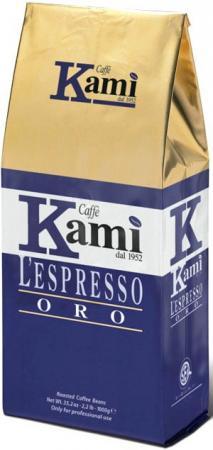 Кофе в зернах Kami Oro Lespresso 1000 грамм