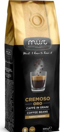 Кофе в зернах MUST Cremoso Oro 500 грамм