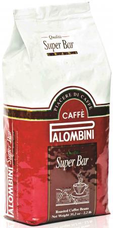 Кофе в зернах Palombini Super Bar 1000 грамм кофе в зернах palombini super crema 1кг