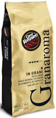 Кофе в зернах Vergnano Gran Aroma 500 грамм кофе молотый vergnano gran aroma 250 гр