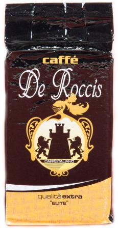 Кофе молотый De Roccis Q Elite Extra 250 грамм de roccis extra elite кофе в зернах 500 г