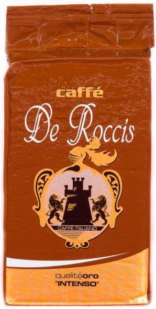 Кофе молотый De Roccis Q. Oro 250 грамм