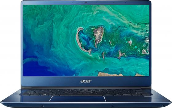 "Ультрабук Acer Swift 3 SF314-54G-554T 14"" 1920x1080 Intel Core i5-8250U 256 Gb 8Gb nVidia GeForce MX150 2048 Мб синий Linux NX.GYJER.004 цена и фото"