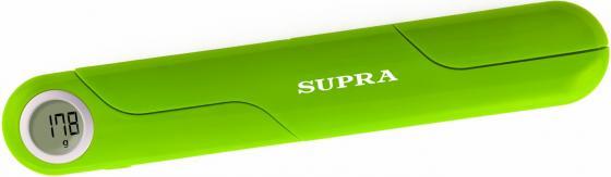 Весы кухонные электронные Supra BSS-4102 макс.вес:5кг зеленый телефон supra stl 111 белый
