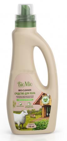 BioMio BIO-FLOOR CLEANER Экологичное средство для мытья полов Мелисса 750мл biomio bio sensitive экологичное средство для стирки деликатных тканей без запаха 1 5 л