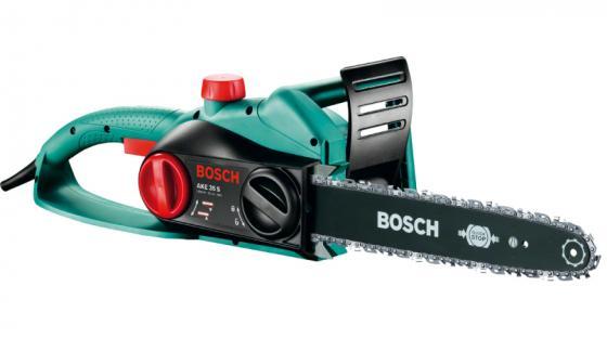 Электрическая цепная пила Bosch AKE 45 S 1900Вт дл.шин.:18 (45cm) электрическая цепная пила bosch advancedcut 18 set дл шин 10 25cm