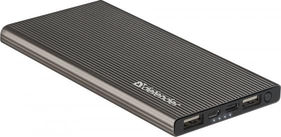 Внешний аккумулятор Power Bank 5000 мАч Defender ExtraLife Fast темно-серый 83627