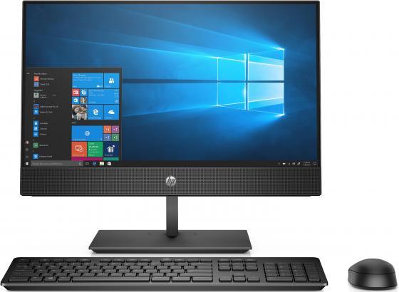HP ProOne 600 G4 AiONT 21.5(1920x1080 IPS)/Intel Core i3 8100(3.6Ghz)/8192Mb/256SSDGb/DVDrw/BT/WiFi/war 3y/W10Pro + Wireless Slim kbd & mouse hp elitedesk 800 g4 sff intel core i5 8500 3ghz 8192mb 256ssdgb dvdrw war 3y w10pro displayport