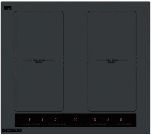 Варочная панель электрическая Maunfeld EVI.594.FL2(S графит встраиваемая электрическая варочная панель maunfeld evi 594 bg