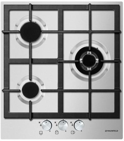 Варочная панель газовая Maunfeld EGHS.43.33 серебристый газовая варочная панель neff t27cs59s0