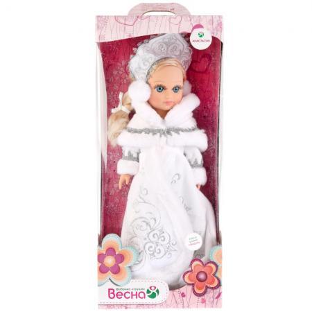 Кукла ВЕСНА АНАСТАСИЯ СНЕГУРОЧКА 42 см со звуком В1929/о кукла весна элла 9 со звуком в2957 о