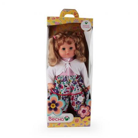 Кукла ВЕСНА ДАШЕНЬКА 15 54 см со звуком В2297/о кукла весна элла 9 со звуком в2957 о