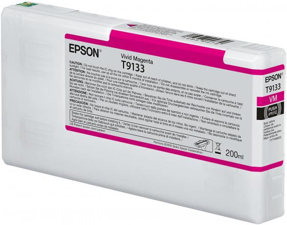 Epson I/C Vivid Magenta (200ml) 200ml