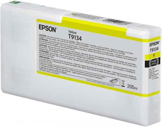 Epson I/C Yellow (200ml) epson i c light cyan 200ml