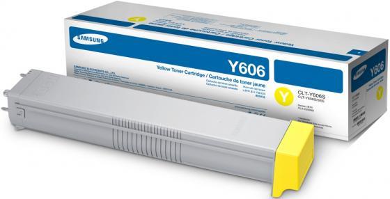Samsung CLT-Y606S Yellow Toner Cartridge