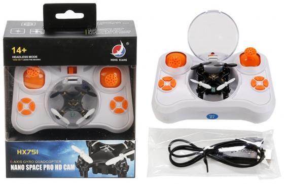 КВАДРОКОПТЕР Р/У С USB ЗАРЯДКОЙ, ЦВЕТ В АССОРТ. HX751 В КОР. 17*11,5*5,3СМ в кор.2*48шт квадрокоптер parrot bebop drone 2 белый