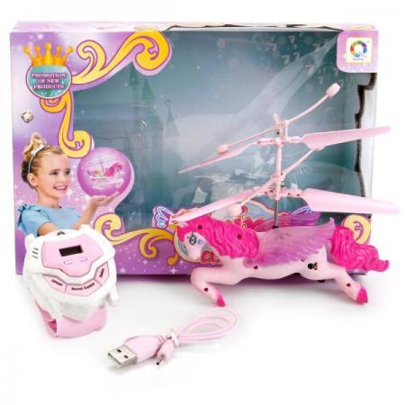 Игрушка Shantou Лошадка летающая 16 см радиоуправляемая игрушка летающая фея