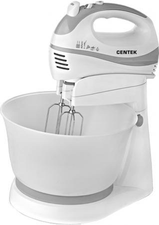 Миксер стационарный Centek CT-1105 320 Вт белый серый стационарный