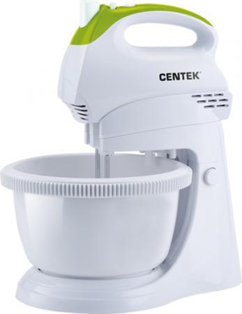 Миксер стационарный Centek CT-1119 350 Вт белый зеленый