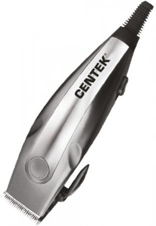 Машинка для стрижки волос Centek CT-2109 серый хром машинка для стрижки волос centek ct 2121 professional